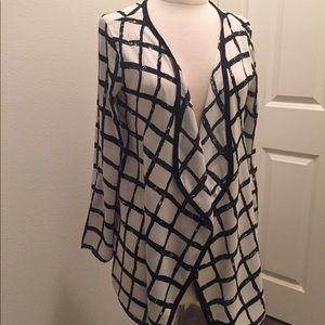 NY & Company Sheer Cardigan Size XS
